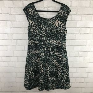 Forever 21 Green Camo Plus Size Dress, 2XL